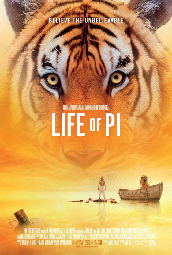 Life of Pi Poster #2