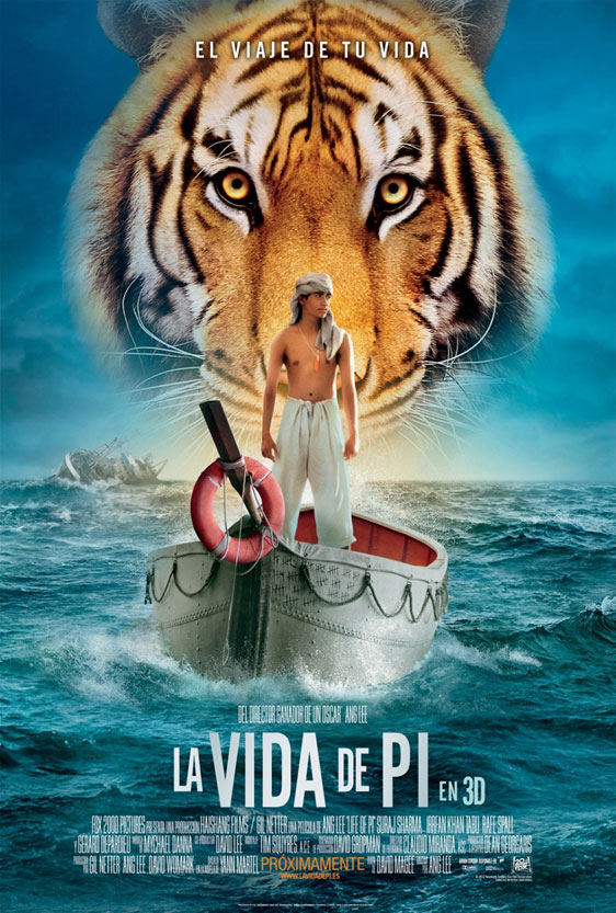 Life of Pi Poster #4