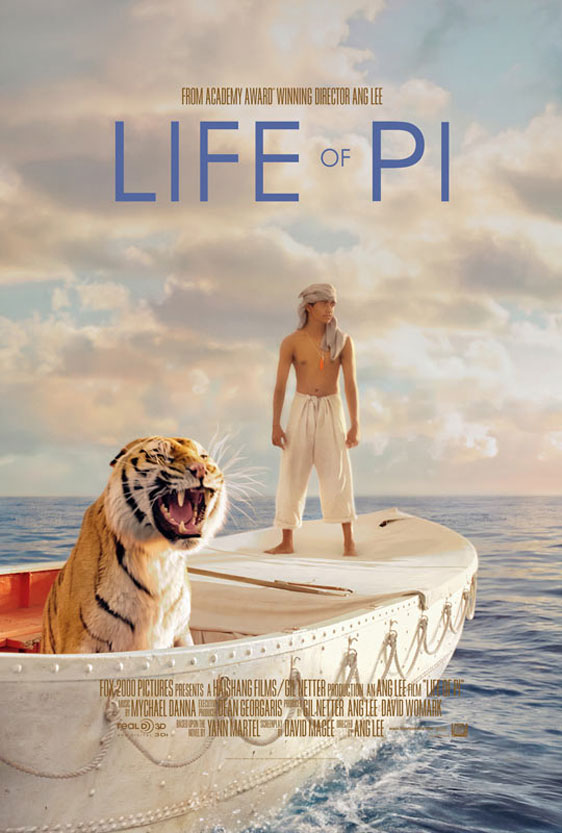 Life of Pi Poster #1