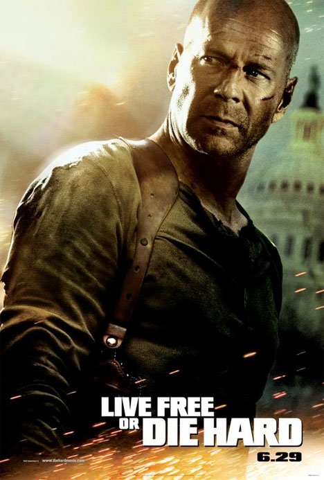 Live Free or Die Hard Poster #1