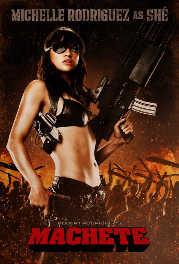 Machete Poster #4