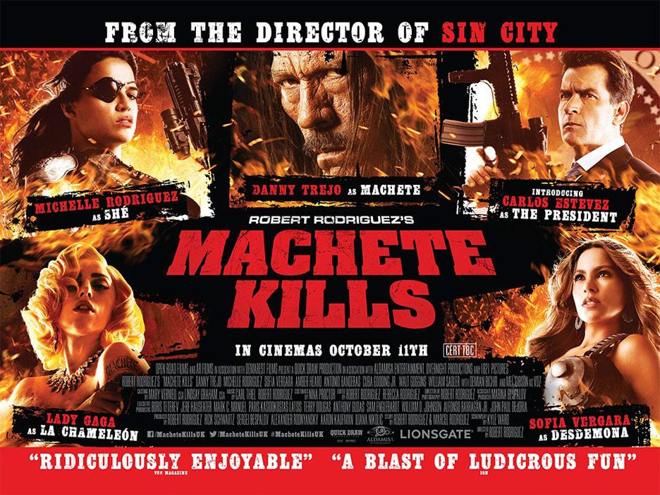Machete Kills Poster #11