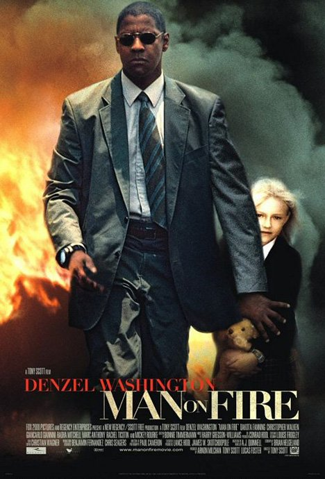 Man on Fire Poster #1