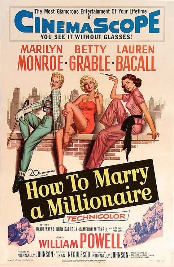 How to Marry a Millionaire Poster #1