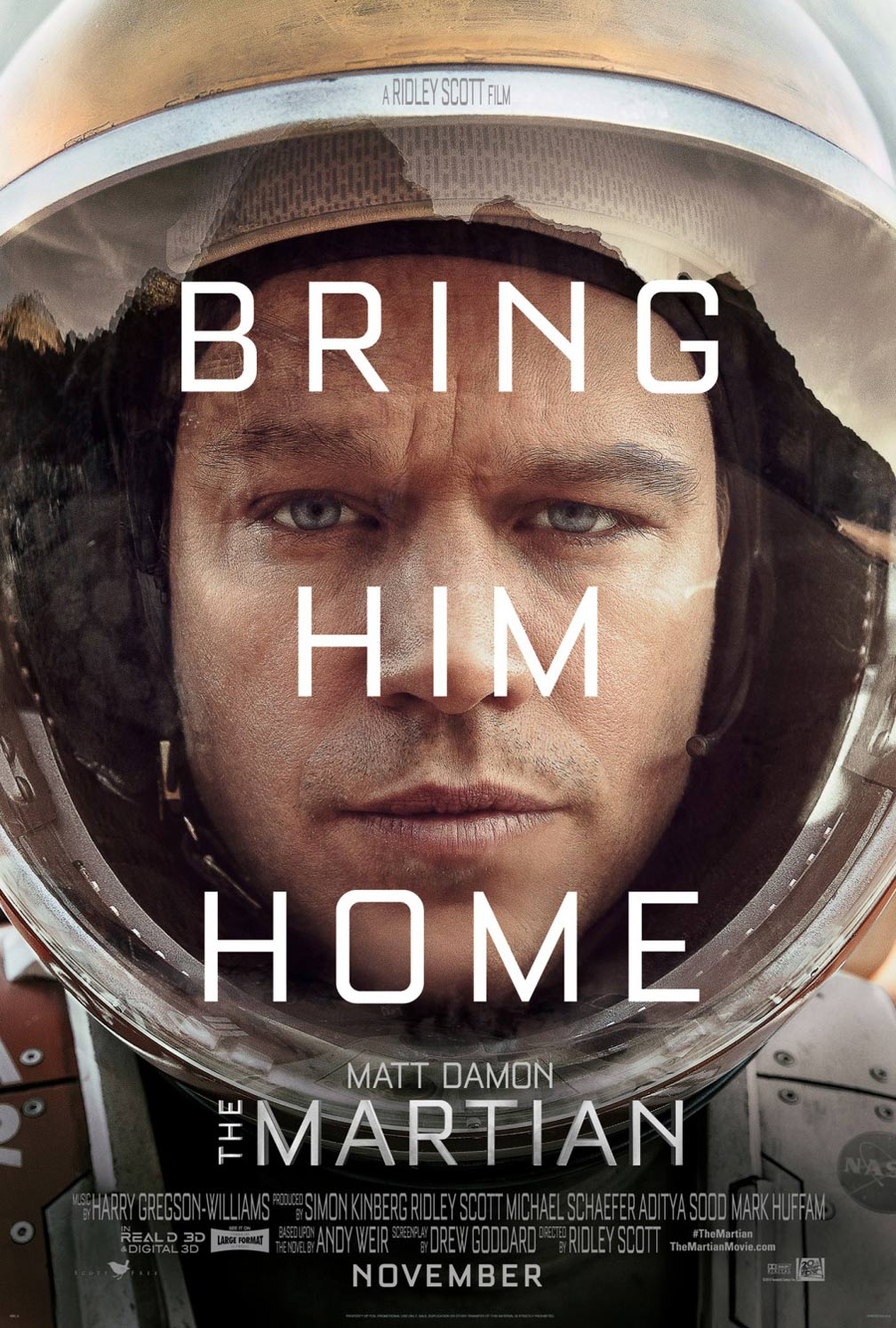 The Martian Poster #1
