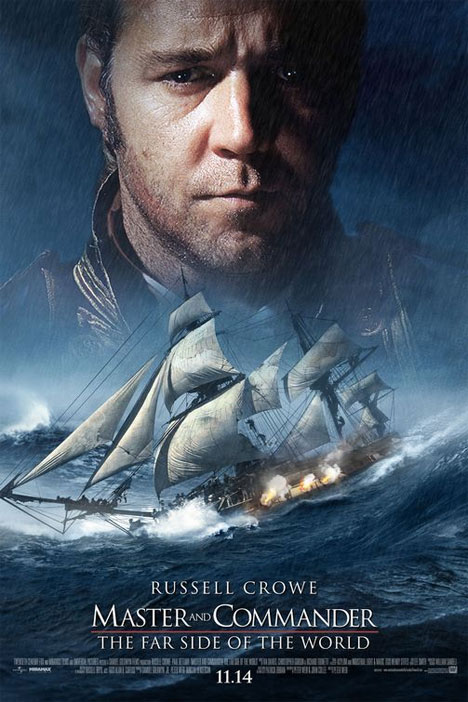Master and Commander: The Far Side of the World Poster #1