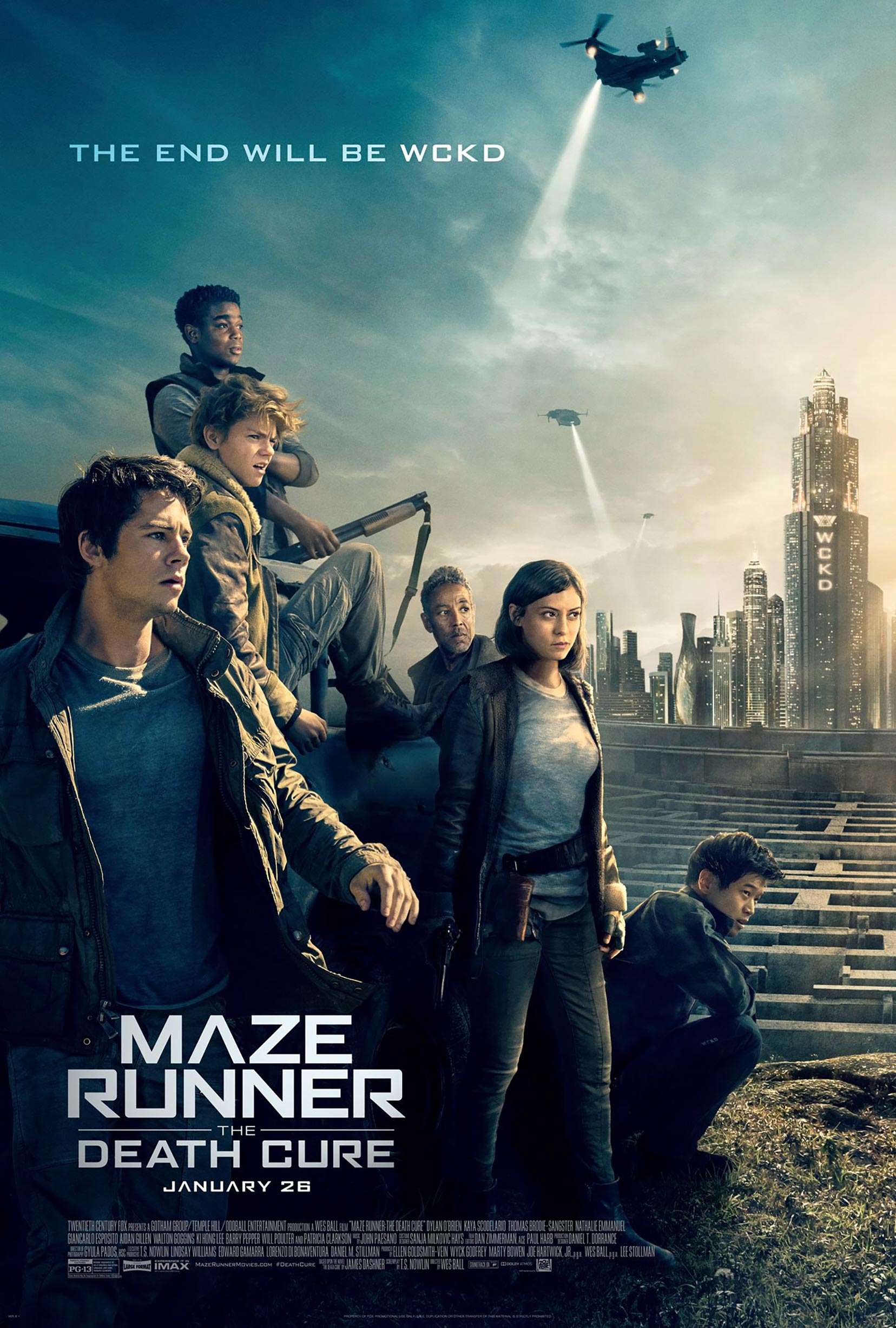 Maze Runner: The Death Cure Poster #10