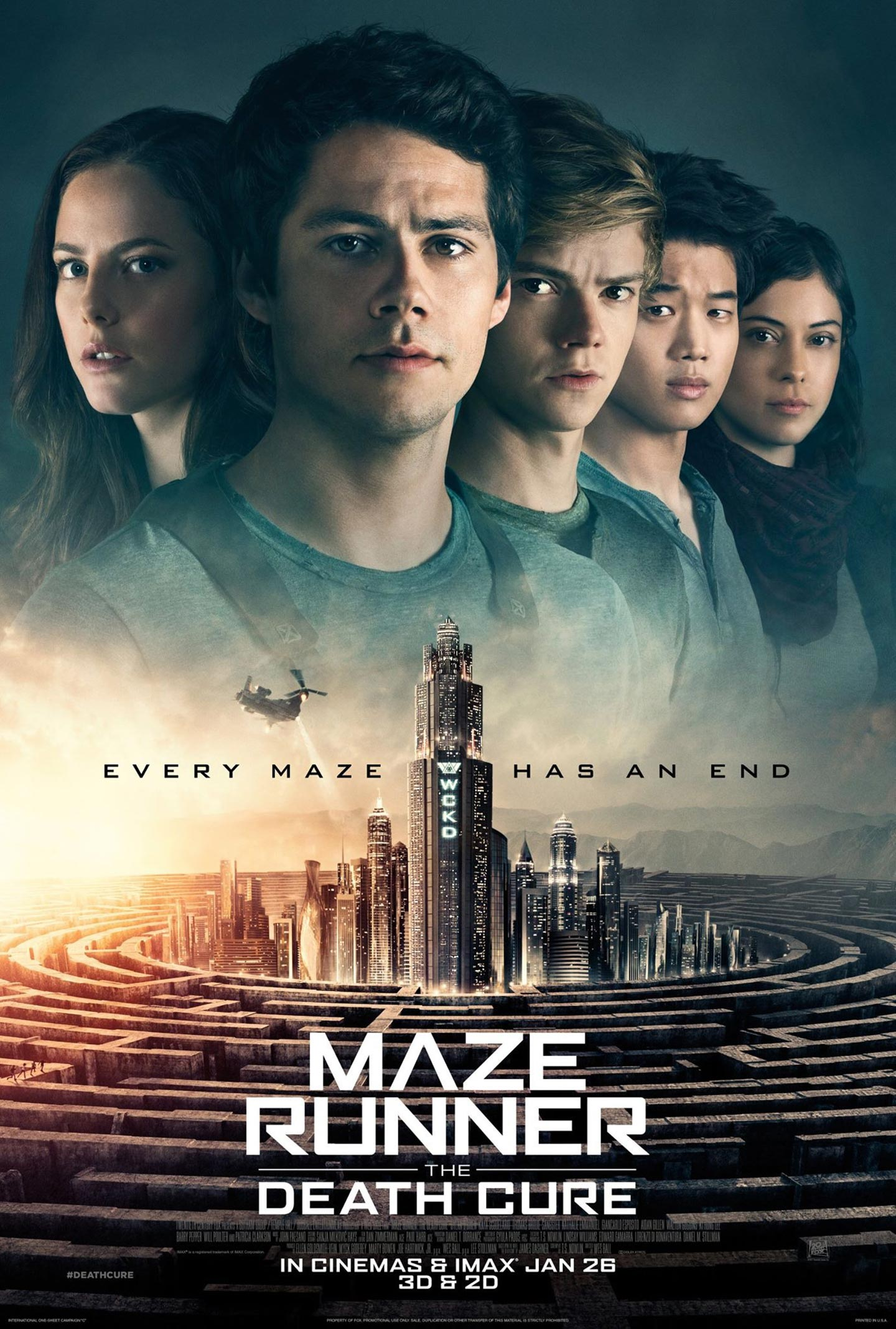 Maze Runner: The Death Cure Poster #3