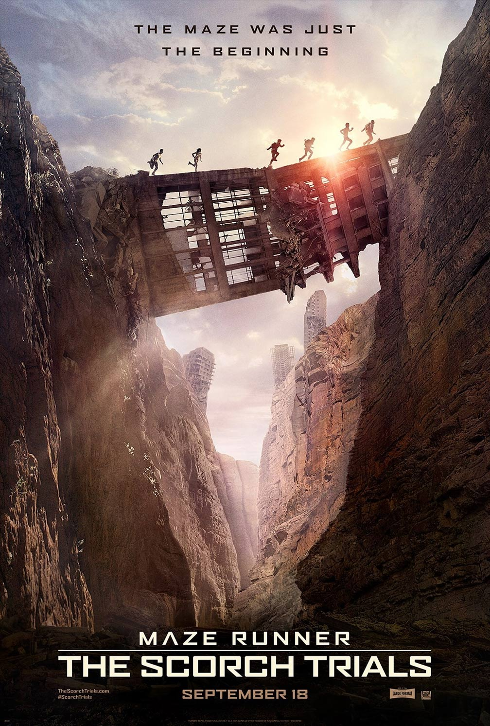 Maze Runner: The Scorch Trials Poster #2
