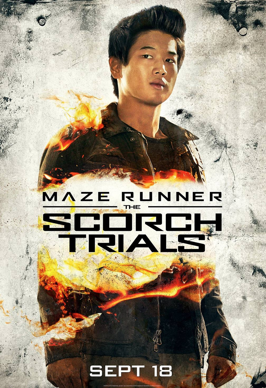 Maze Runner: The Scorch Trials Poster #3