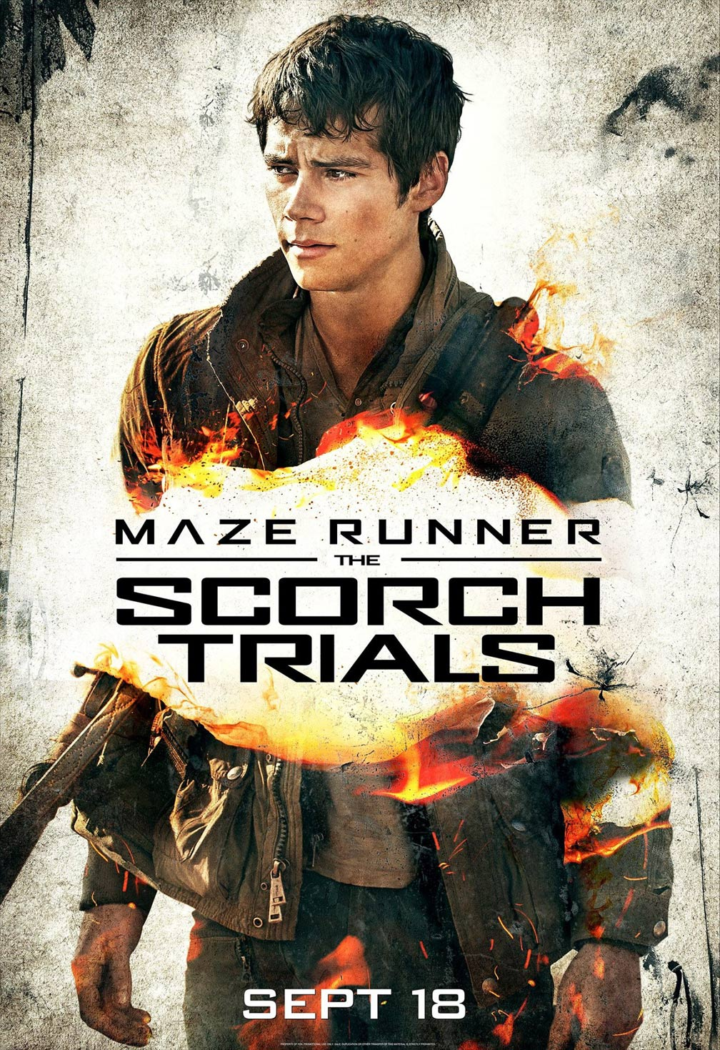Maze Runner: The Scorch Trials Poster #4