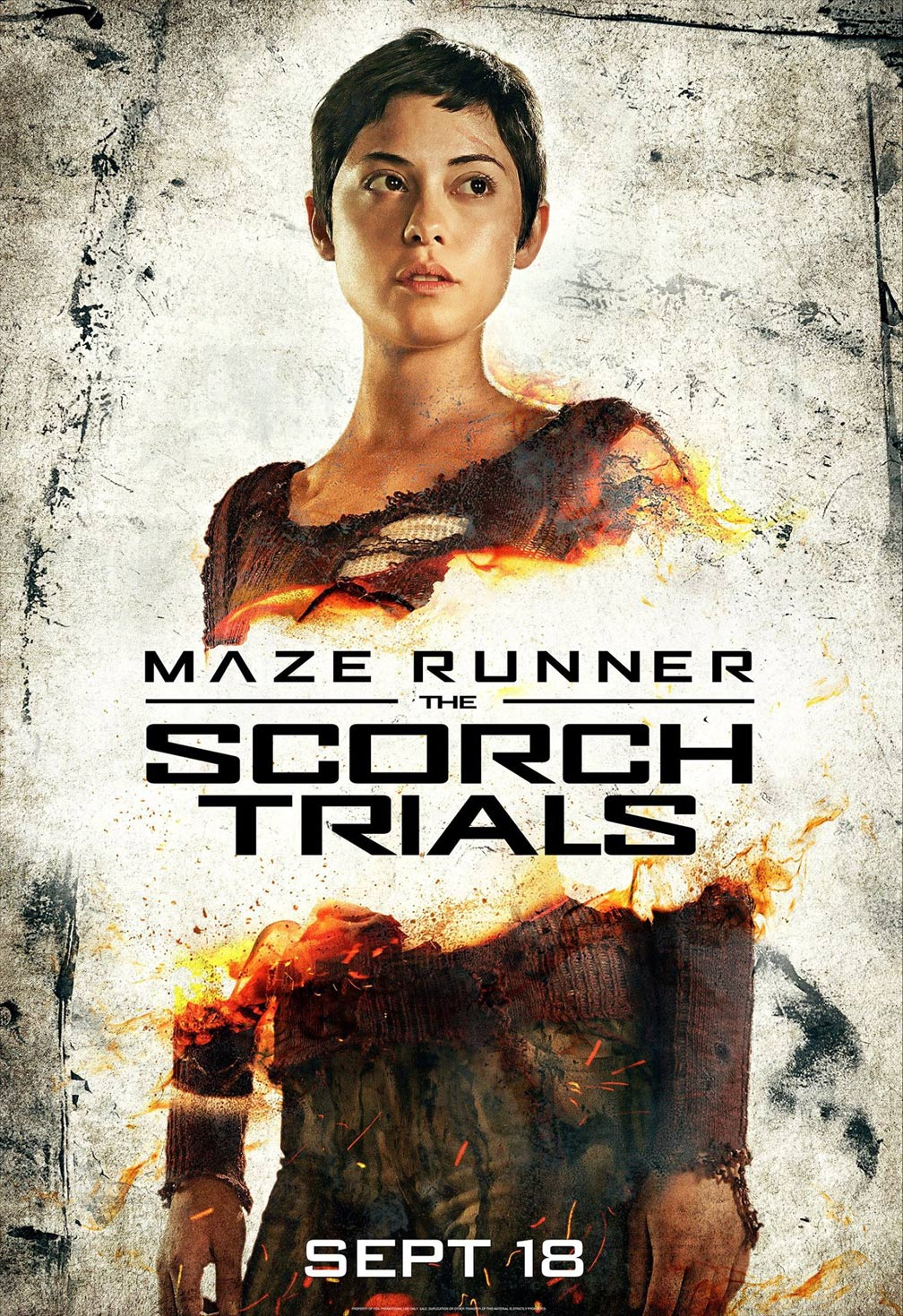 Maze Runner: The Scorch Trials Poster #5