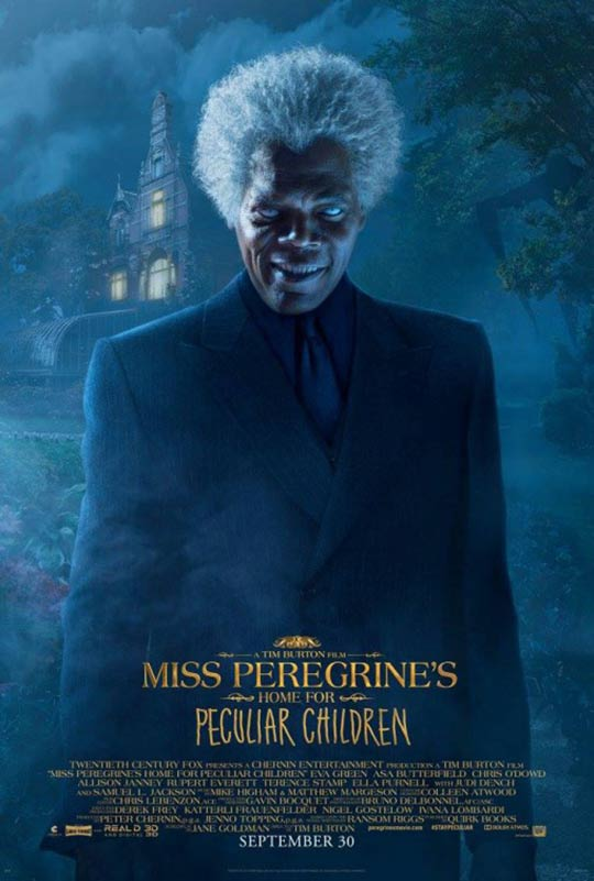 Miss Peregrine's Home for Peculiar Children Poster #11