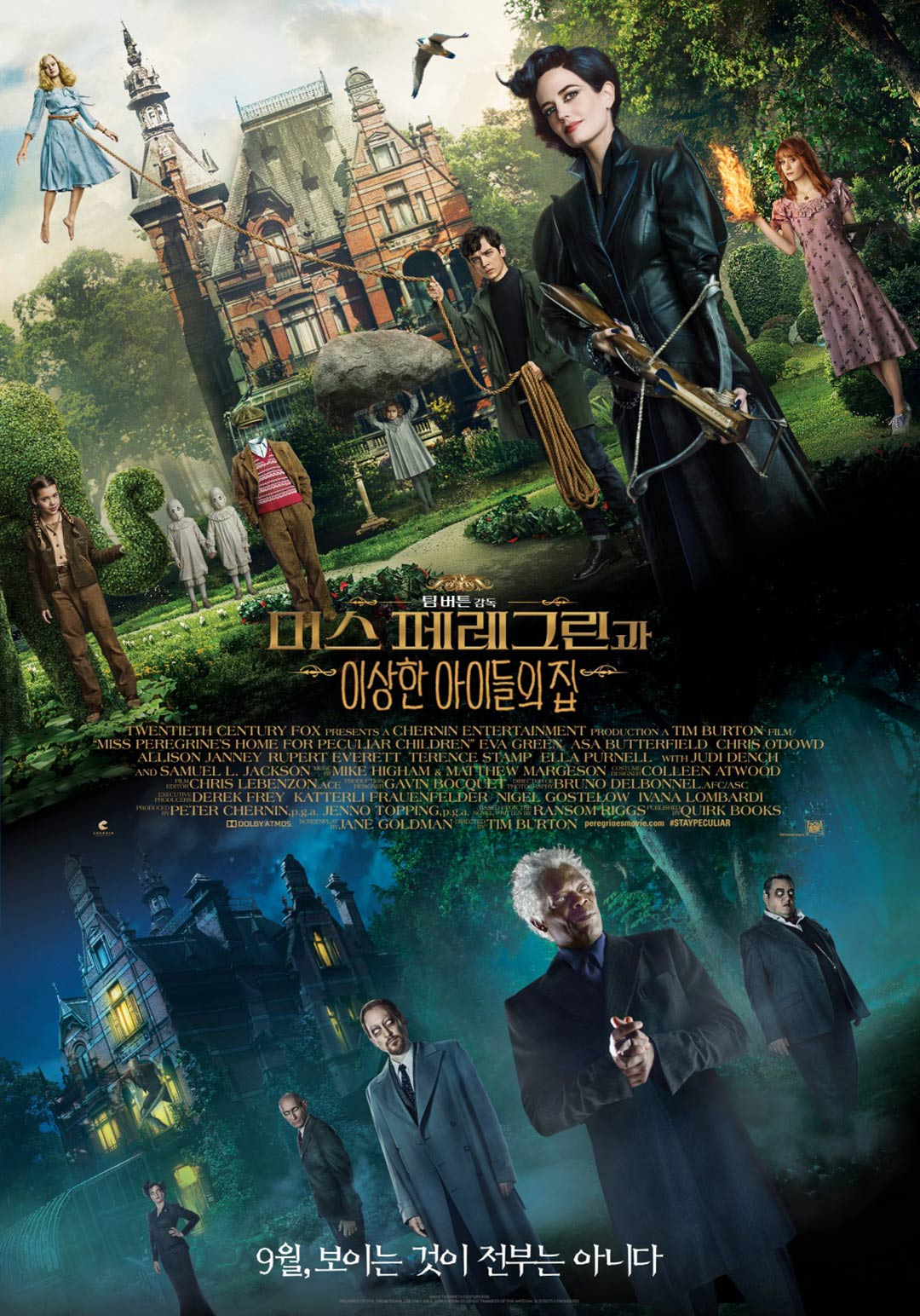 Miss Peregrine's Home for Peculiar Children Poster #12