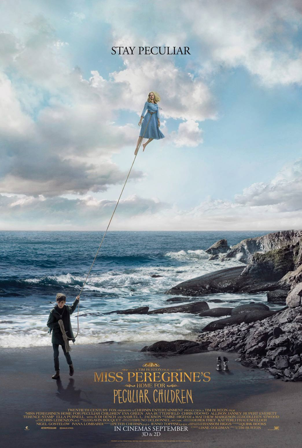 Miss Peregrine's Home for Peculiar Children Poster #2