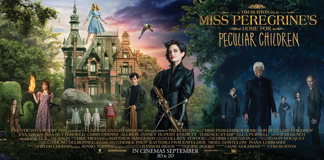 Miss Peregrine's Home for Peculiar Children Poster #3