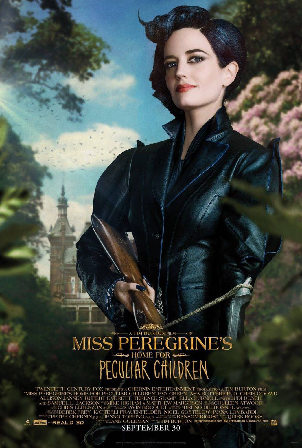Miss Peregrine's Home for Peculiar Children Poster #4