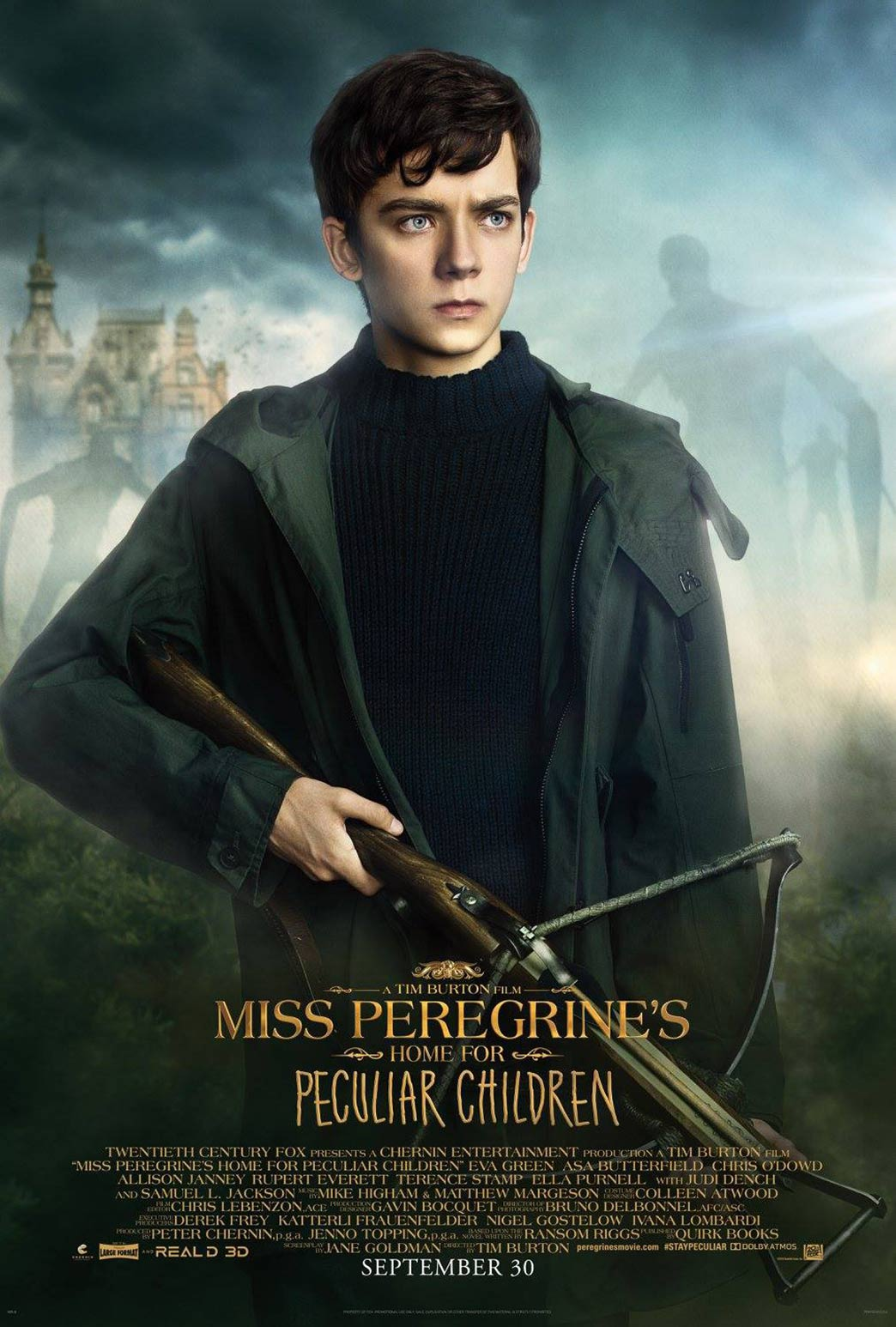 Miss Peregrine's Home for Peculiar Children Poster #5