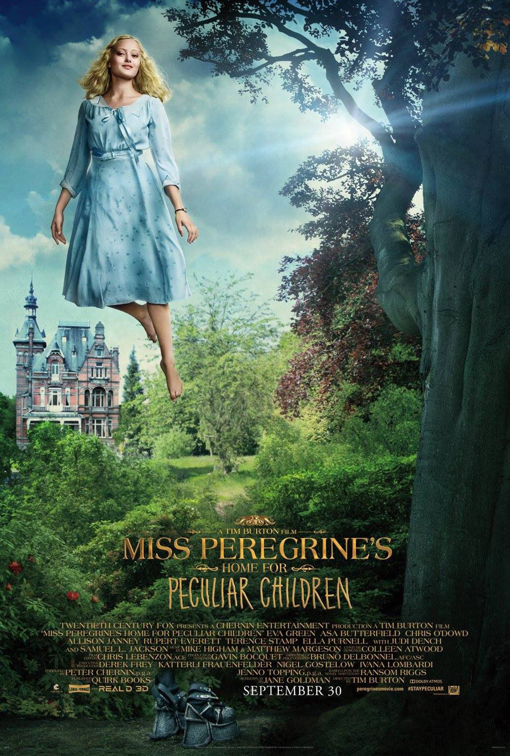 Miss Peregrine's Home for Peculiar Children Poster #6