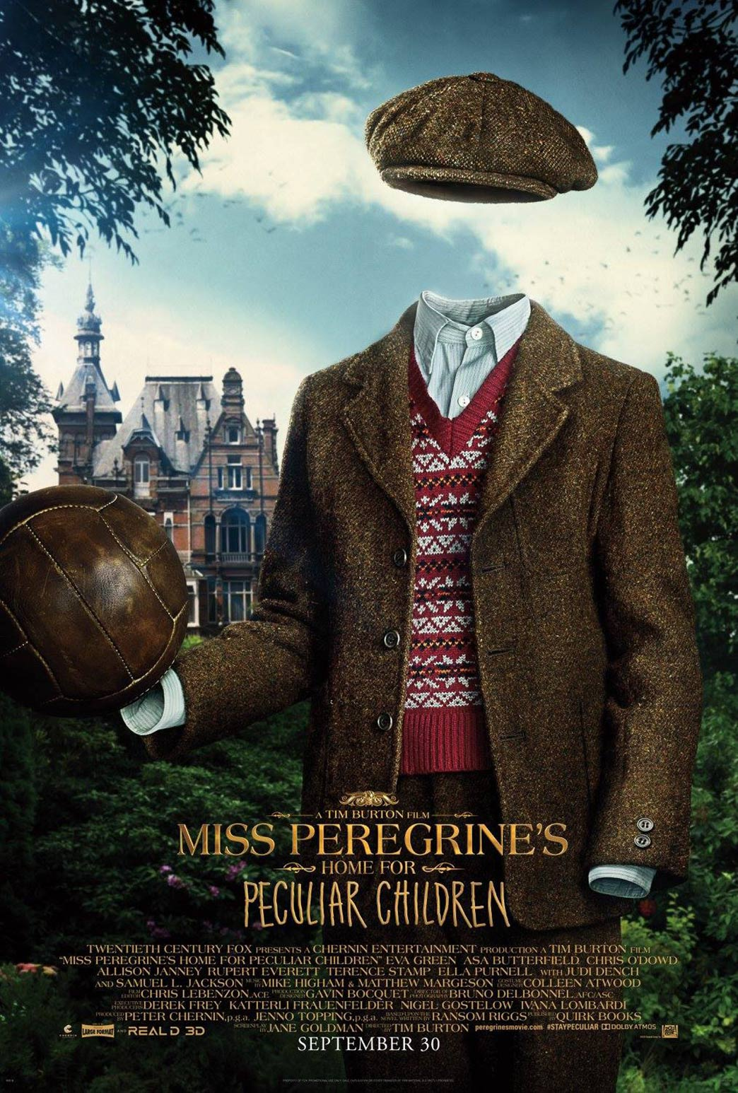 Miss Peregrine's Home for Peculiar Children Poster #7
