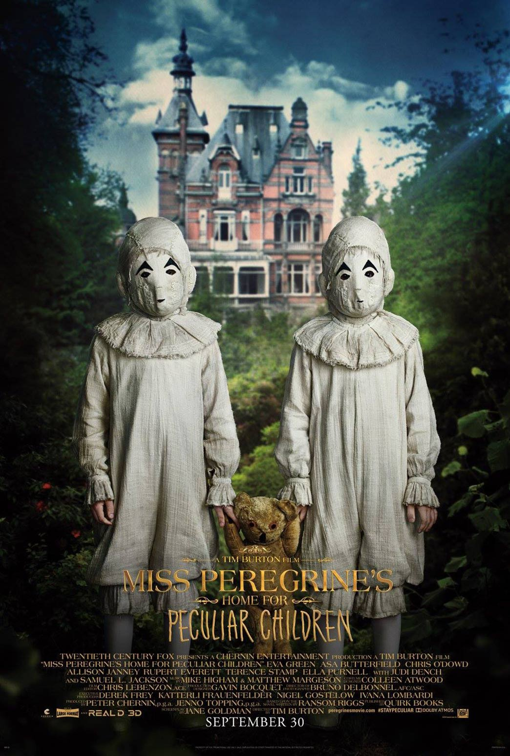 Miss Peregrine's Home for Peculiar Children Poster #9