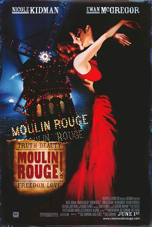 Moulin Rouge! Poster #1