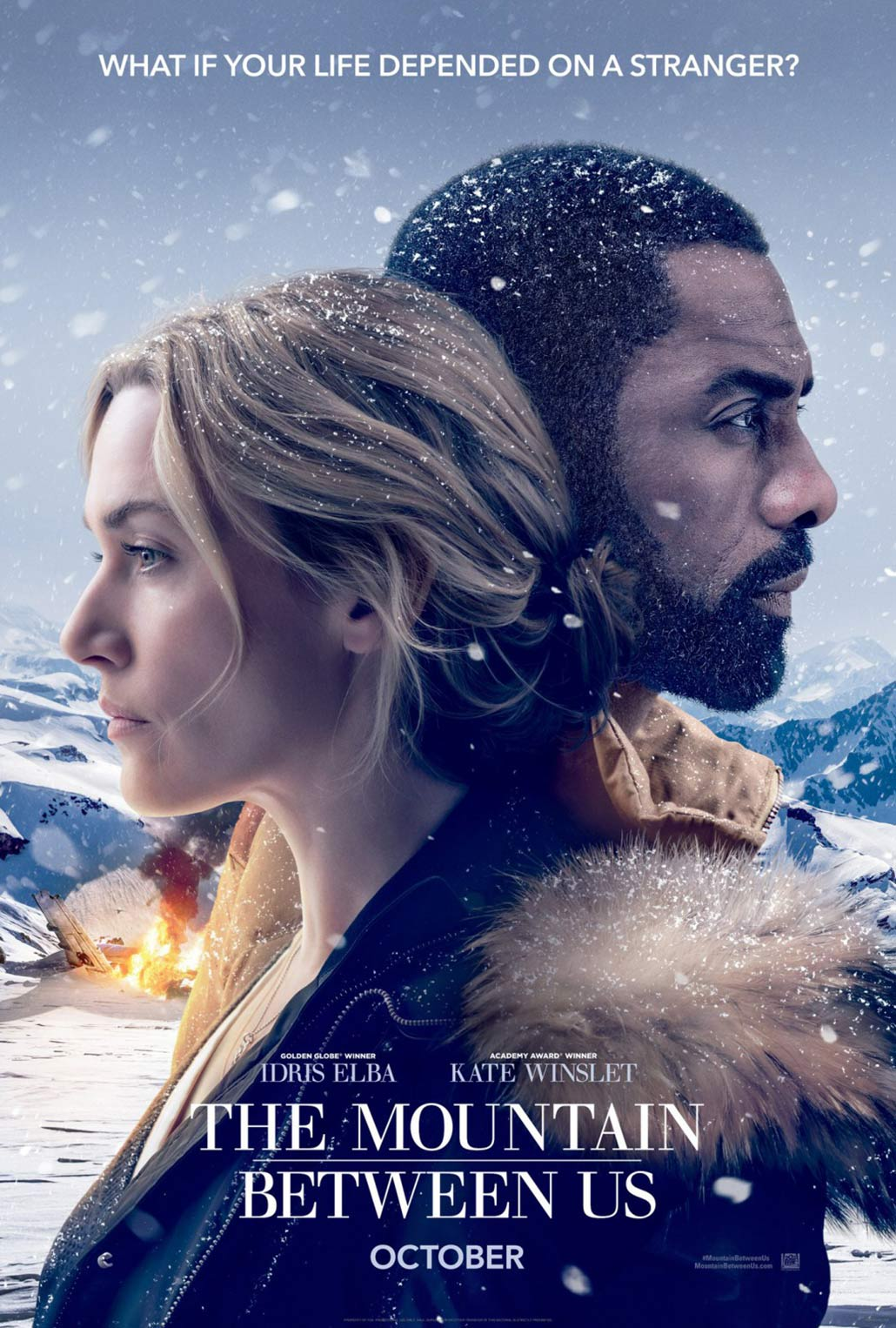 The Mountain Between Us Poster #1