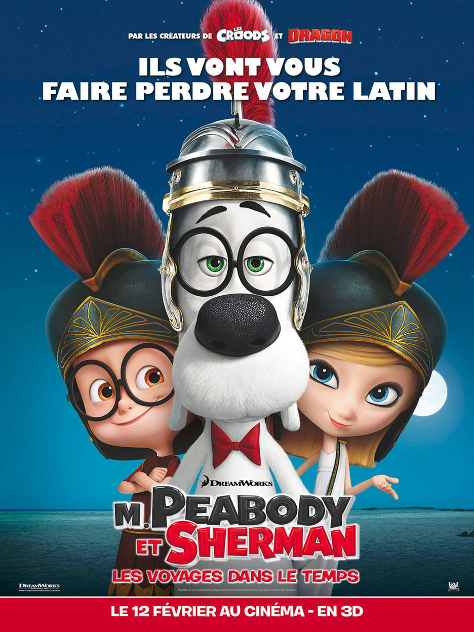 Mr. Peabody & Sherman Poster #12