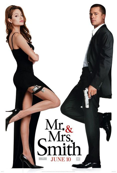 Mr. and Mrs. Smith Poster #1