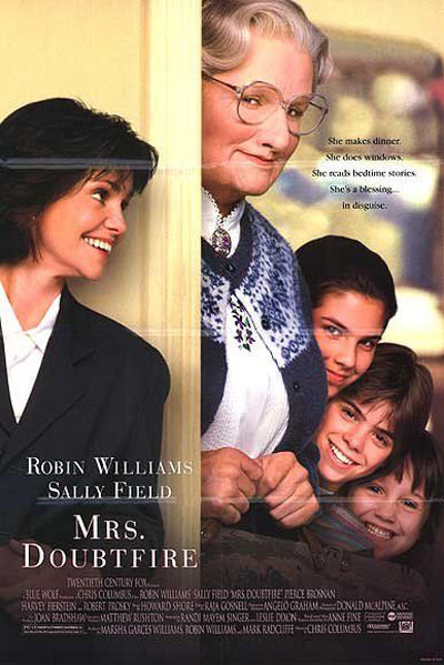 Mrs. Doubtfire Poster #2