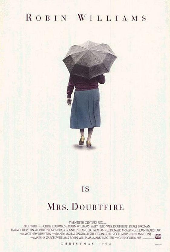 Mrs. Doubtfire Poster #1