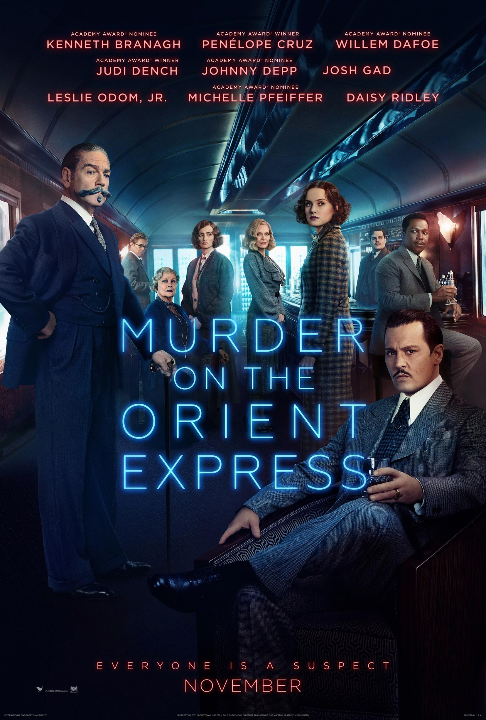 Murder on the Orient Express Poster #2
