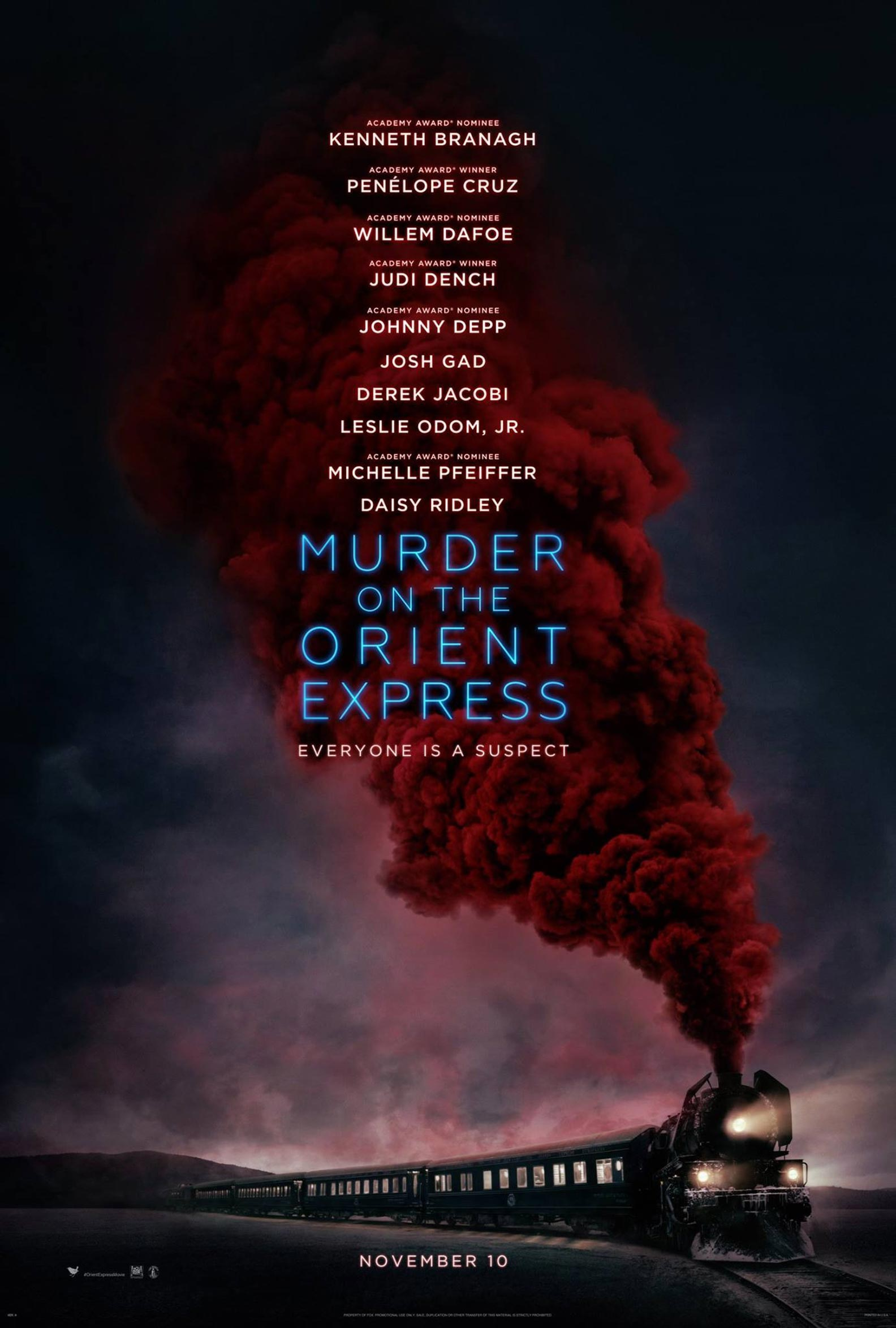 Murder on the Orient Express Poster #1