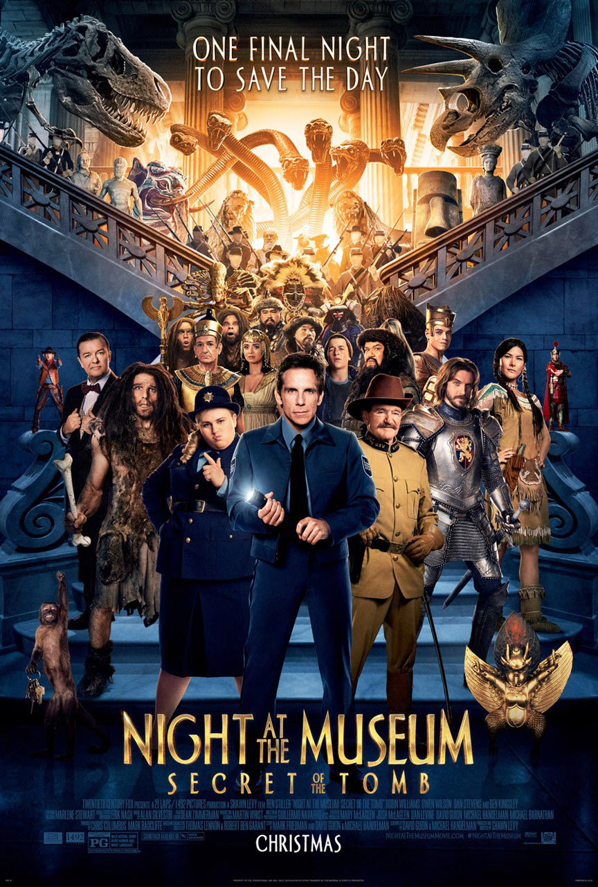 Night at the Museum: Secret of the Tomb Poster #3
