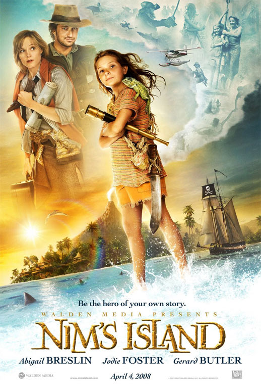 Nim's Island Poster #1