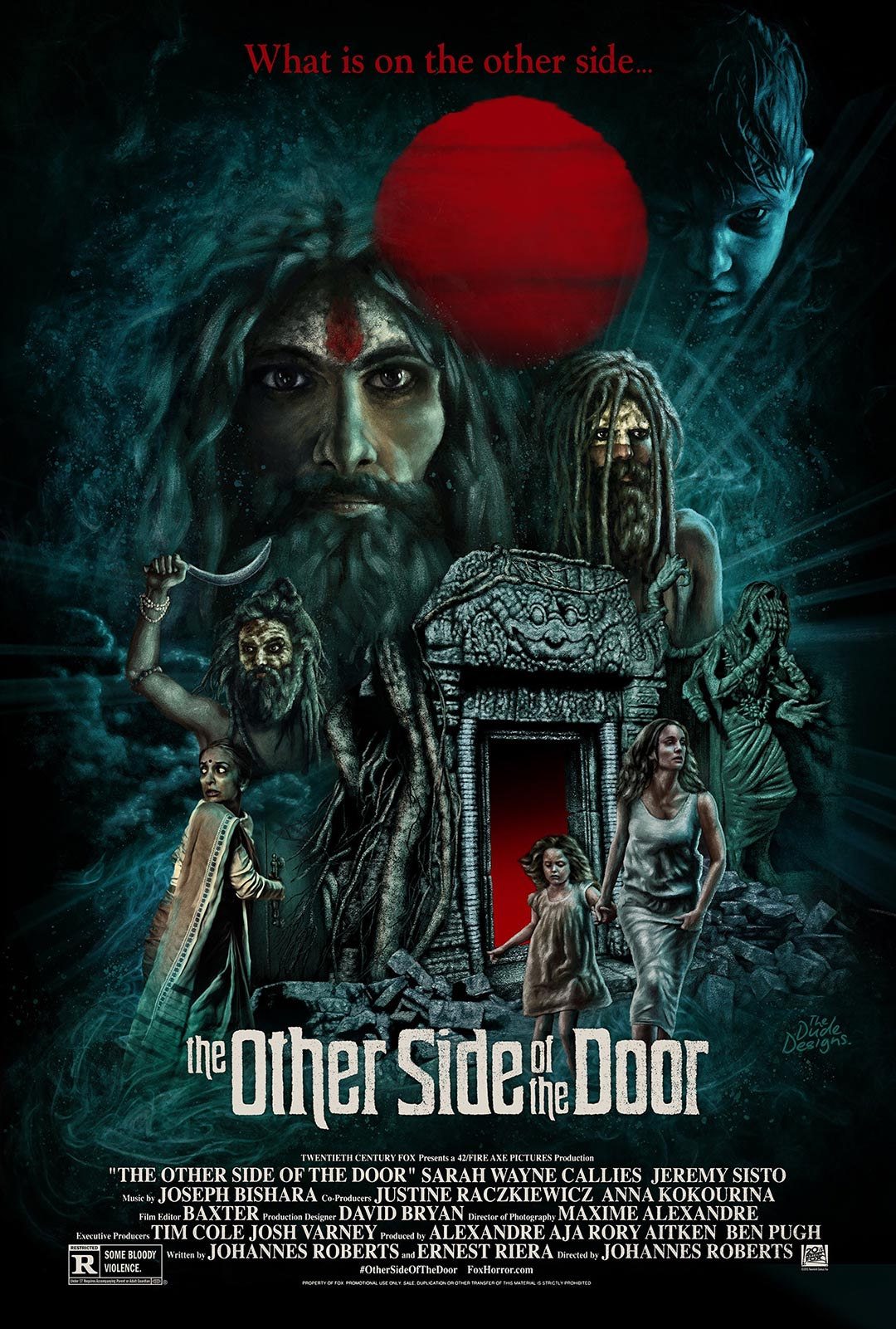 The Other Side of the Door Poster #3