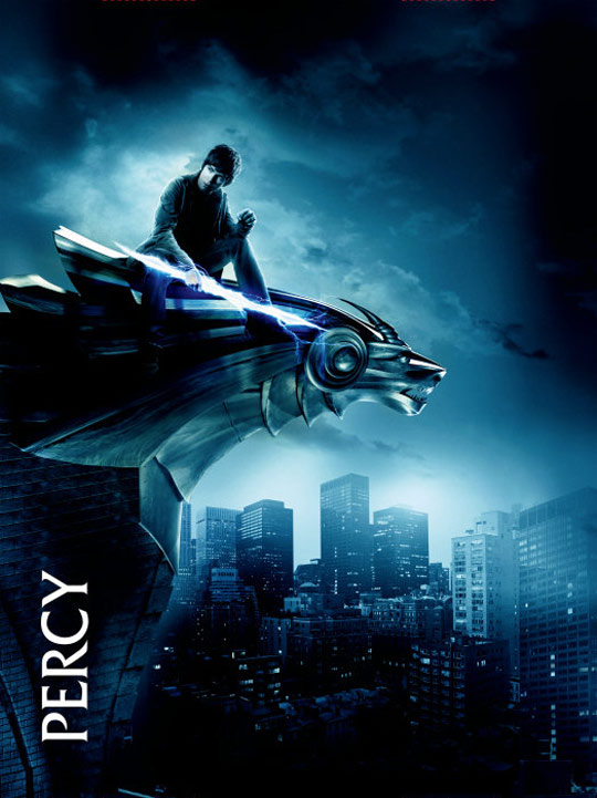 Percy Jackson & The Olympians: The Lightning Thief Poster #14