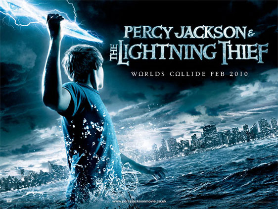 Percy Jackson & The Olympians: The Lightning Thief Poster #4