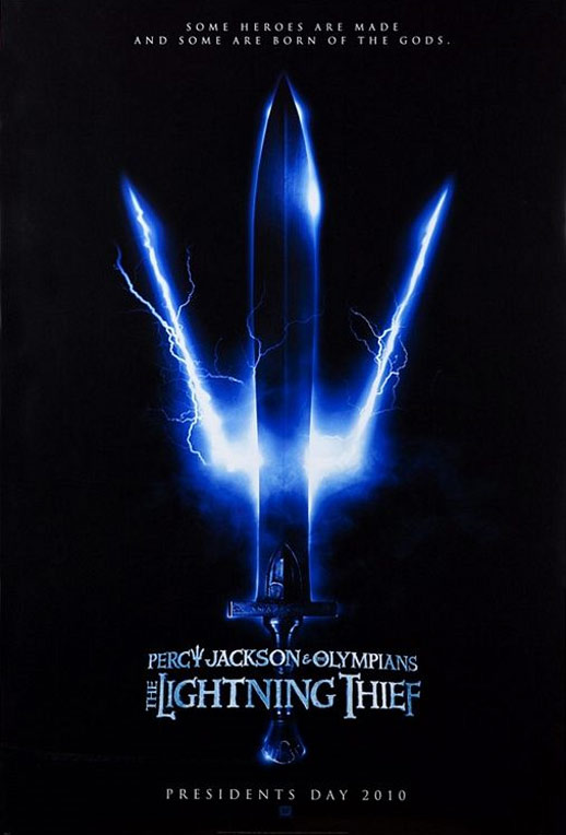 Percy Jackson & The Olympians: The Lightning Thief Poster #1