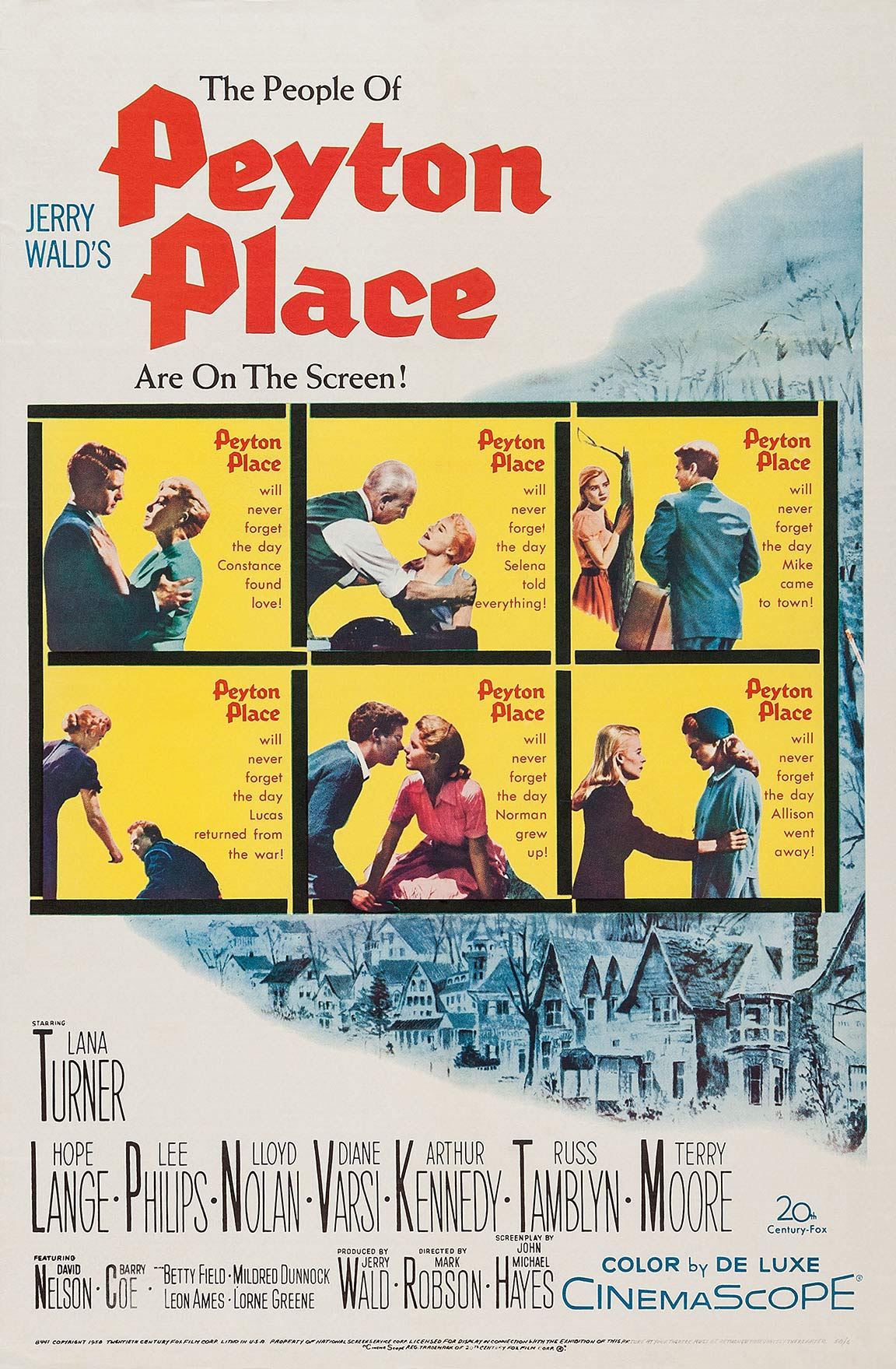 Peyton Place Poster #1