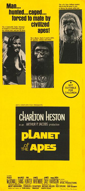 Planet of the Apes Poster #3