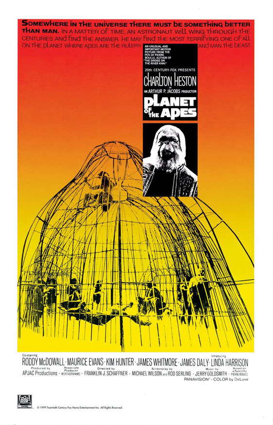 Planet of the Apes Poster #1