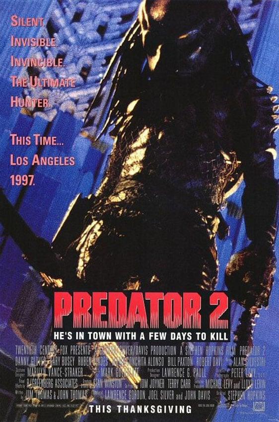 Predator 2 Poster #1