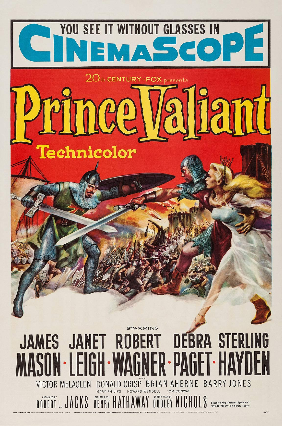 Prince Valiant Poster #1