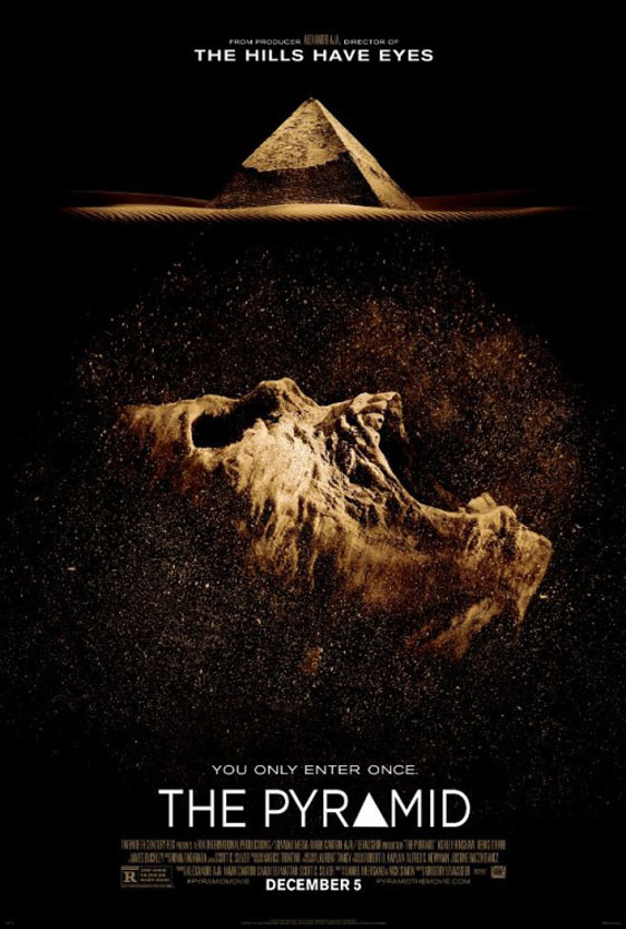 Image result for THE PYRAMID ( 2014 ) POSTER