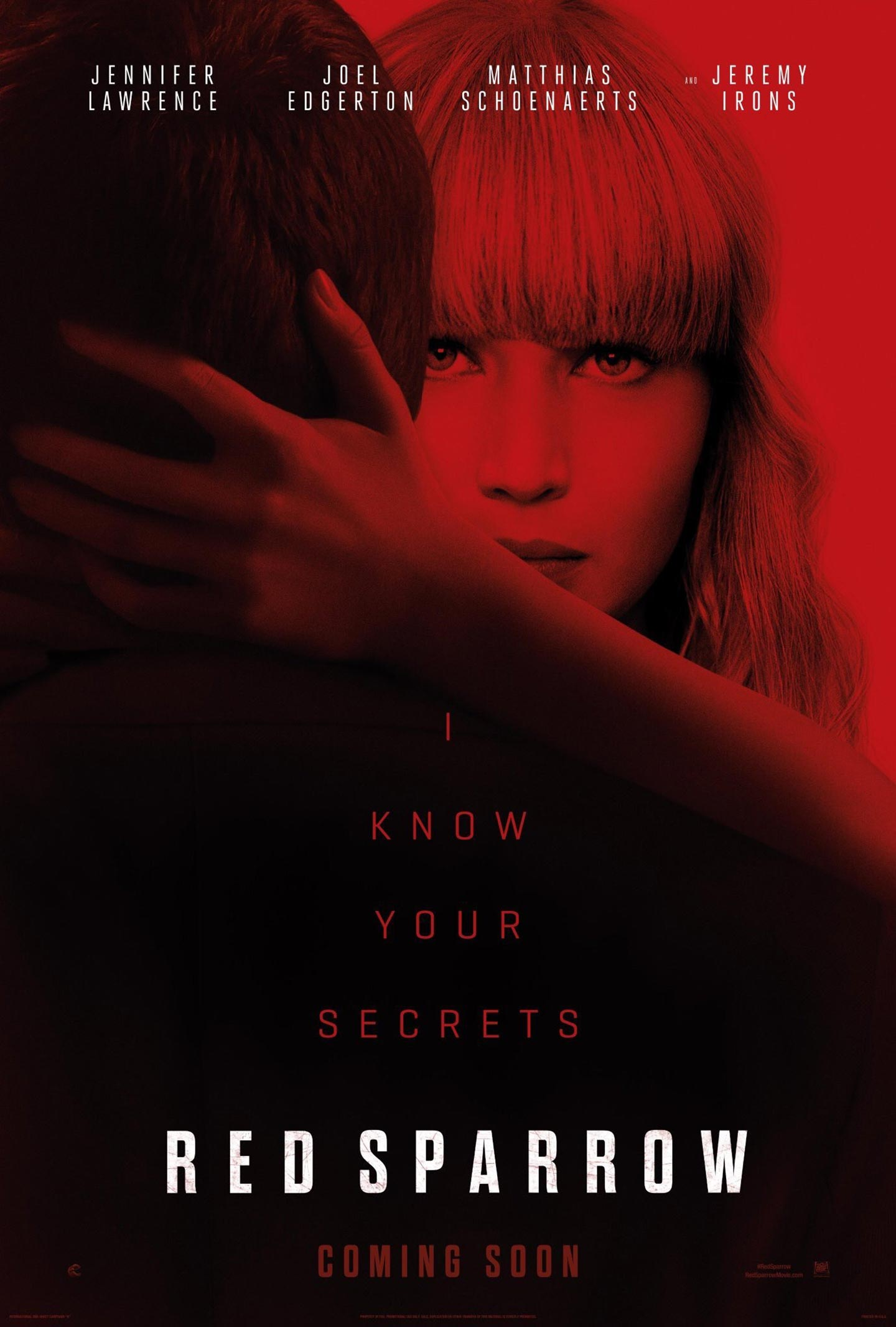 Red Sparrow Poster #2