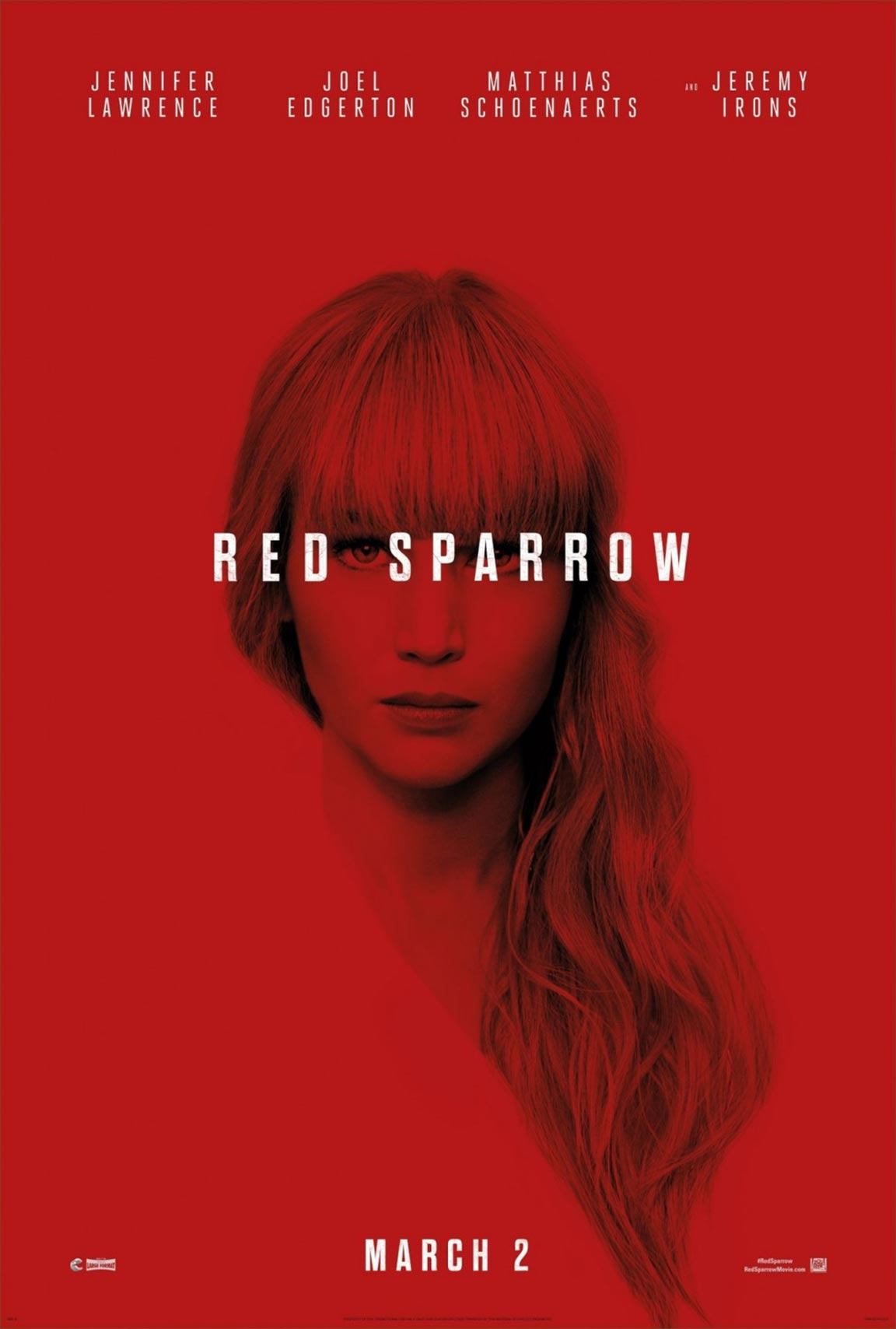 Red Sparrow Poster #1