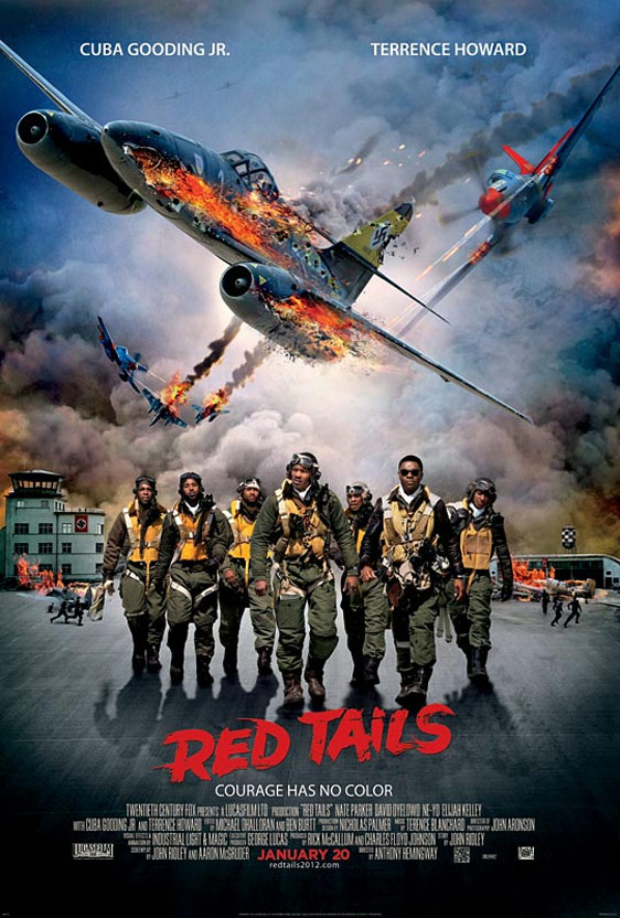 Red Tails Poster #2