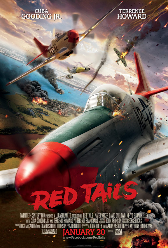 Red Tails Poster #1