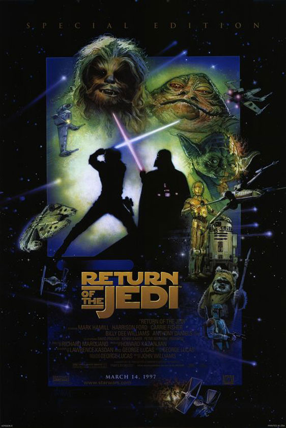 Star Wars: Episode VI - Return of the Jedi Poster #9